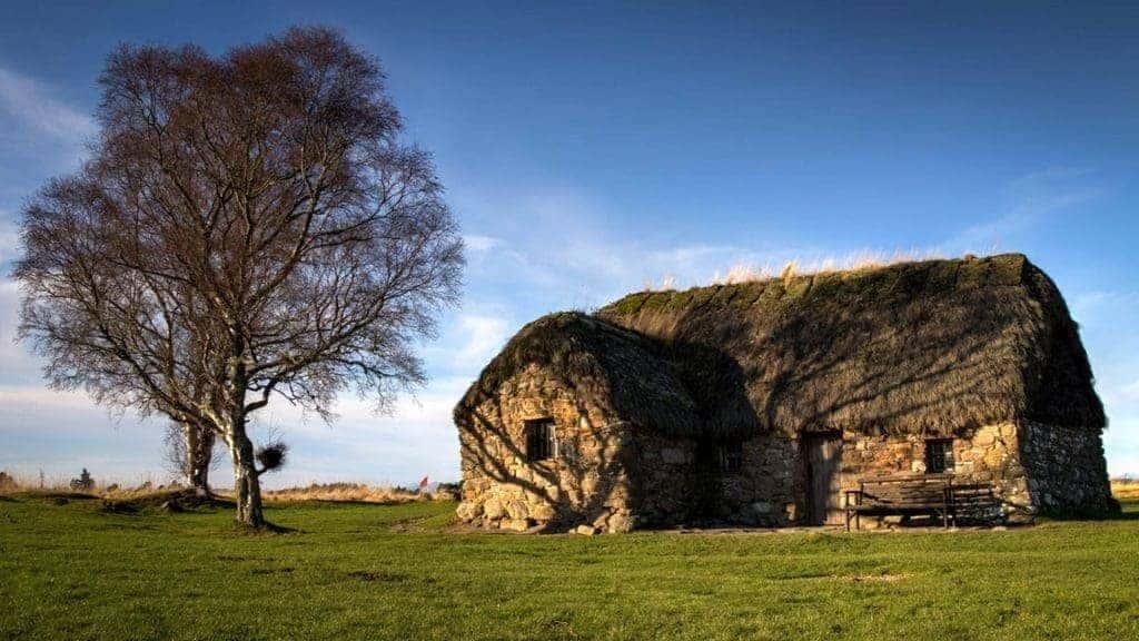 Leanach Cottage, Culloden Battlefield