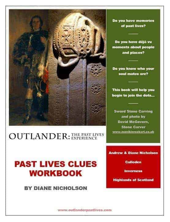 Outlander : The Past Lives Experience workbook cover