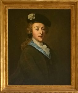 Picture of Bonnie Prince Charlie hangs at Culloden House
