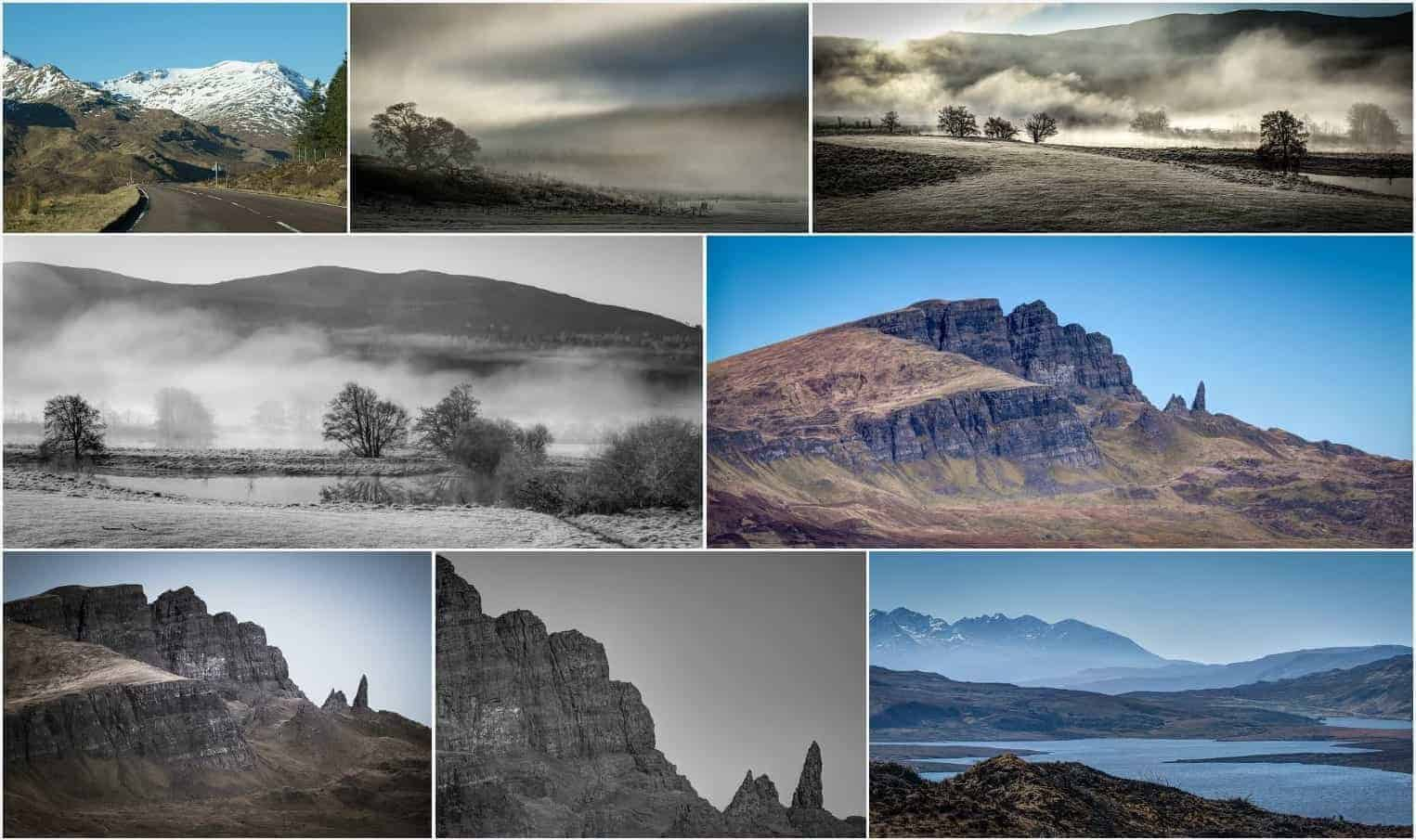 Highland Tours - Skye montag