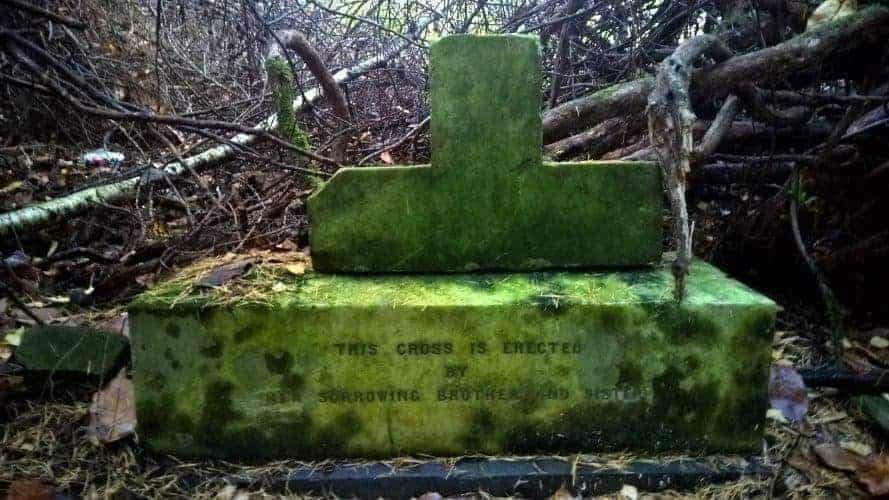 The Hidden Graves in Culloden Woods...