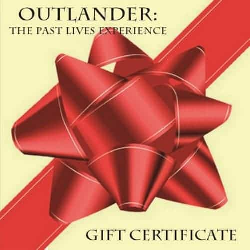 Outlander tour gift certificate